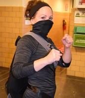 Ninja Ms. Vandehey