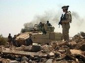 Thousands of soldiers enter Iraq