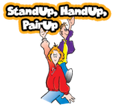 STAND UP, HAND UP, PAIR UP (SUHUPU)