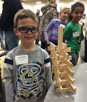 GT Students showing their building muscles!