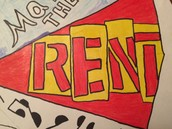 The Broadway musical Rent!
