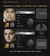 District 10 Tributes