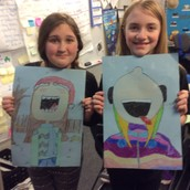 Integrating art, writing, reading, and technology!