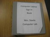 Laptop Carts/Lab Sign Up