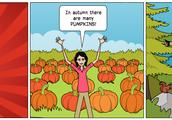 Dizzy loves autumn
