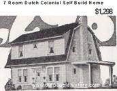 Self Build 7 Room Aladdin Dutch Colonial Barn Style property