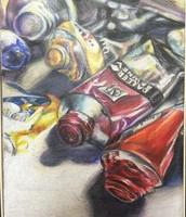 Paint Tubes- by Lillian Chen Gr. 11