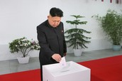 King Jong-un in elections