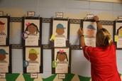 Teachers Displayed Student Work