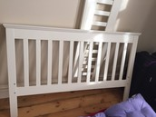 SOLD Aspace White Double Bed Frame - £50