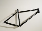 scandium alloy bicycle frame