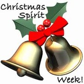 Christmas Spirit Week - December 7-11
