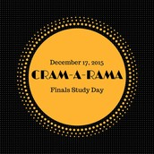 Cram-a-rama is Thursday