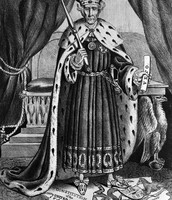 Andrew Jackson as the King
