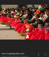 Peruvian Dancing.