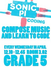 Grade 5- Sonic Pi - Compose Music and Learn to Code