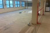 New Cafeteria Flooring