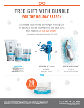 The Holiday Bundle...Regimen + Super Hero Tool = 20% Off AND Free Eye Cream!