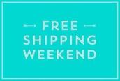 Free Shipping Weekend (Nov. 21-23)!