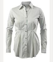 Pinstripe Shirt-M
