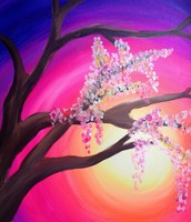 Sunset Branches - $25