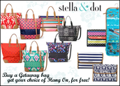 FREE HANG-ON Travel Bag with your Get-Away Bag Purchase!