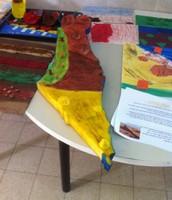 טעימה מעבודות תלמידי ו' בנושא רצועת החוף כדרך  הערכה חלופית .