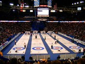 Why is the sport called curling?