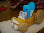 Race car (no baking required!)