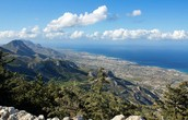 The Kyrenia mountains