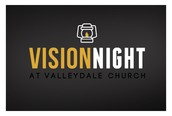 Vision Night - This Wednesday, September 9, 6:30 PM in the Big Room