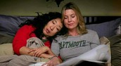 Meredith and Cristina from Grey's Anatomy