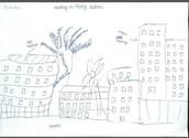 Sketch Of Housing estates in Tiong Bahru