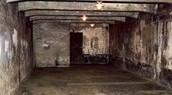 Gas chamber in Auschwitz