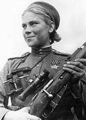 Soviet Sniper, Roza Shanina