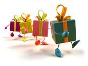 Дорогие мои, забирайте подарки, компания щедра как никогда!