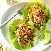 Beef Lettuce Wrap w/ Peanuts