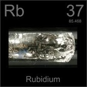 Rb- Rubidium