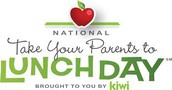 National Bring Your Parent/Guardian to Lunch Day