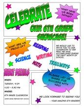 6th Grade Showcase