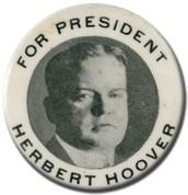 1928 President Herbert Hoover
