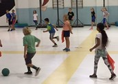 4th graders in PE