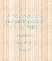 30 Hands Atmosphere Project Cover Page