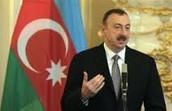 The leader of Azerbaijan