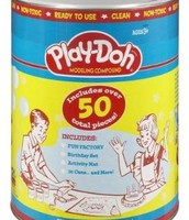 One of the first cans of Play Doh
