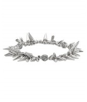 Renegade Cluster Bracelet -Silver (SOLD)