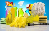 Cleaners and Sanitizers