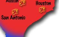 San Antonio and Houston