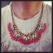 SOLD! Coral Cay Necklace