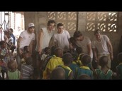 1D supporting these kids in Africa